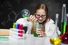 Chemische Wissenschaft Stockfoto