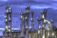 Chemischer Einbau Stockfoto