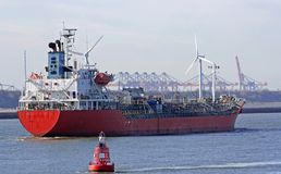 Chemischer Tanker Lizenzfreie Stockfotografie