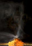 Chemischer Vulkan Stockfoto