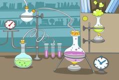 Chemisches Labor Lizenzfreie Stockfotos