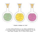 Chemisches Reagenzglas Stockbilder