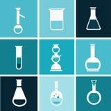 Chemisches Reagenzglas Stockbild