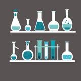 Chemisches Reagenzglas Lizenzfreie Stockfotos