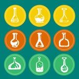 Chemisches Reagenzglas Lizenzfreies Stockbild