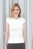 Chemise blanche blanc Photographie stock