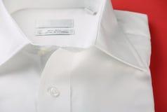 Chemise blanche ordinaire d'affaires Images libres de droits