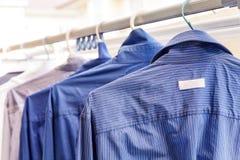 Chemise bleue Image stock