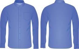 Chemise bleue d'homme illustration de vecteur