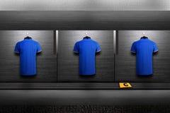 Chemise d'équipe de football image libre de droits