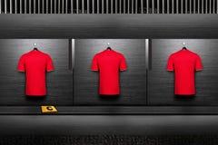 Chemise d'équipe de football photographie stock