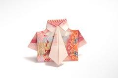 Chemise d'argent Photographie stock libre de droits