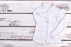 Chemise d'automne, chemisier de fille d'école Photo libre de droits