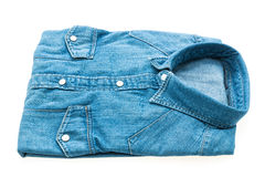 Chemise de jeans photo stock