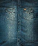 Chemise de jeans photographie stock libre de droits