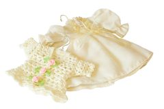 chemise de miniature de robe de poupée Photographie stock libre de droits