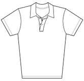 Chemise de polo illustration stock