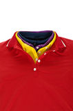 Chemise de polo de collet Images stock