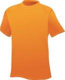 Chemise de sports jaune Images libres de droits
