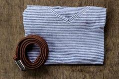 chemise et ceintures Photo libre de droits