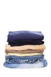 Chemise et treillis de tenue de détente d'hommes photo stock