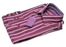 chemise formelle barrée photo stock