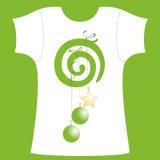 chemise t de décollement Photographie stock libre de droits