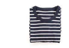 chemise T-shirt plié photographie stock libre de droits