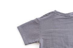 chemise T-shirt plié image stock