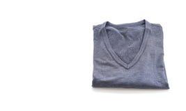 chemise T-shirt plié images stock