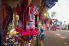 Chemise traditionnelle à vendre Image stock
