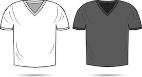 Chemises blanches et grises Photo stock