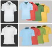 Chemises de polo et T-shirts. illustration de vecteur