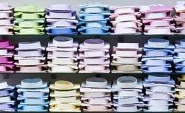 Chemises empilées Images stock