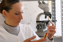 Chemist Analyzing Liquid Stock Photos