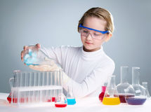 Chemist girl Royalty Free Stock Photo