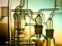 Chemist glass Royalty Free Stock Photos