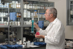 Chemist in Lab Royalty Free Stock Photos