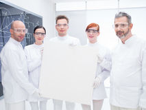 Chemist  laboratory team Stock Photo