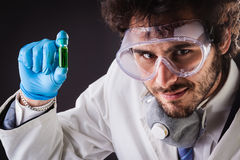 Chemist making discoveries Stock Photo