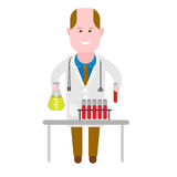Chemist medic Stock Photography