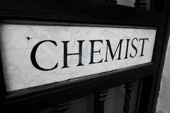 The chemist pharmacie stock photography