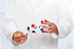 Chemist researcher Stock Photo