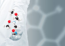 Chemist researcher Stock Photography