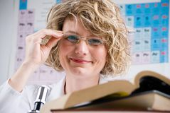 Chemist scientist Stock Photography