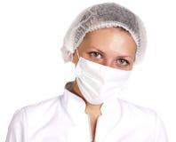 Chemist woman Stock Image