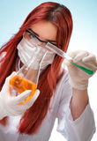 Chemist Royalty Free Stock Photo
