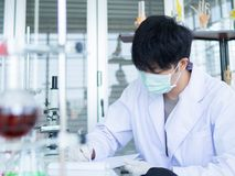 Chemist royalty free stock images