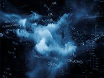 Chemistry Backdrop Stock Image