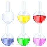 Chemistry beaker vector illustration